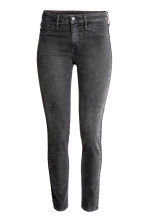 Dark gray denim