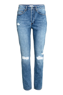 Relaxed High Jeans