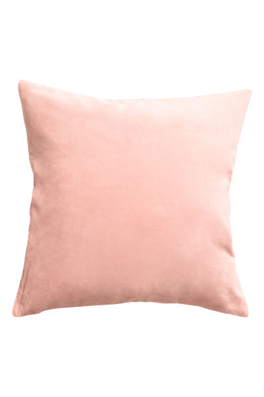 Velvet cushion cover - Powder pink - Home All | H&M CA