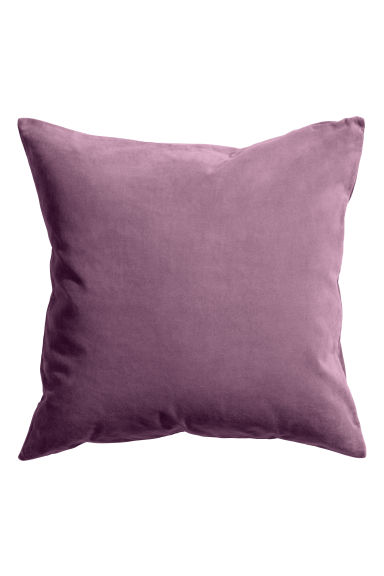 Velvet cushion cover - Heather - Home All | H&M CA
