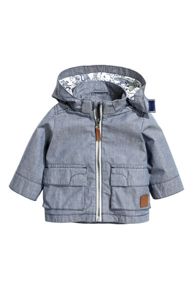 Parka - Denim blue - Kids | H&M CN