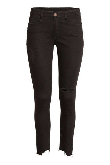 Skinny Regular Ankle Jeans - Denim nero -  | H&M IT
