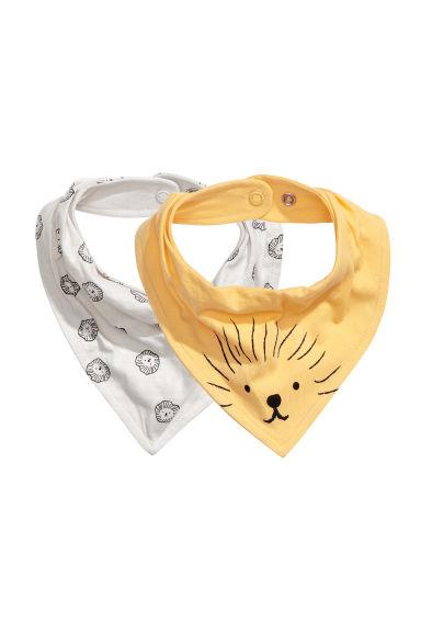 276e11237b73 Lot de 2 foulards - Jaune - ENFANT   H M FR