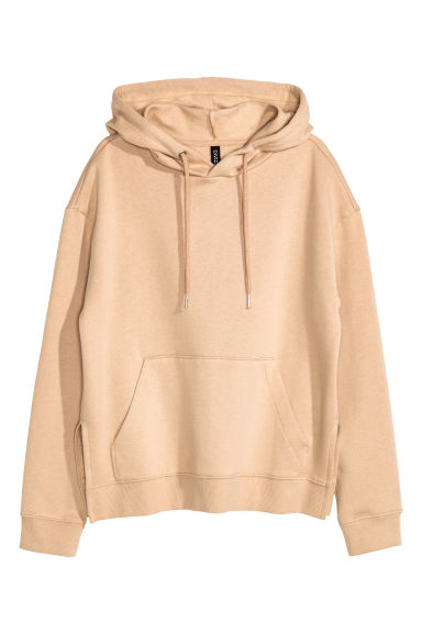 Hooded top - Beige - Ladies | H&M