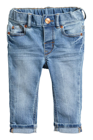 Slim fit Jeans - Denim blue -  | H&M GB