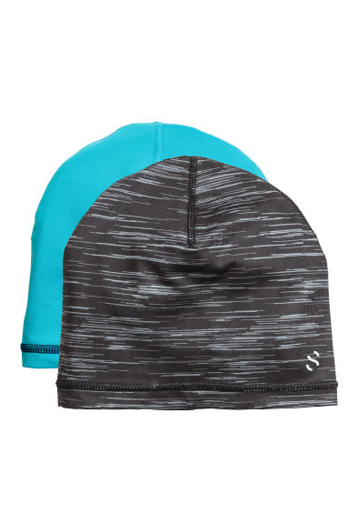 2-pack jersey hats - Dark blue - Kids | H&M CN