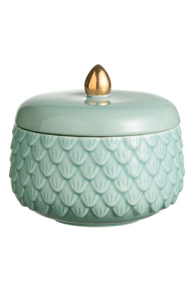 Bote con relieve - Turquesa - HOME | H&M ES