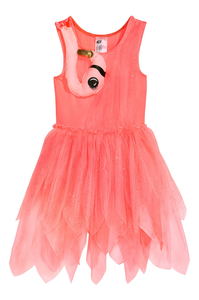 f2e1656acde Dance dress - Neon pink/Flamingo - Kids | H&M ...