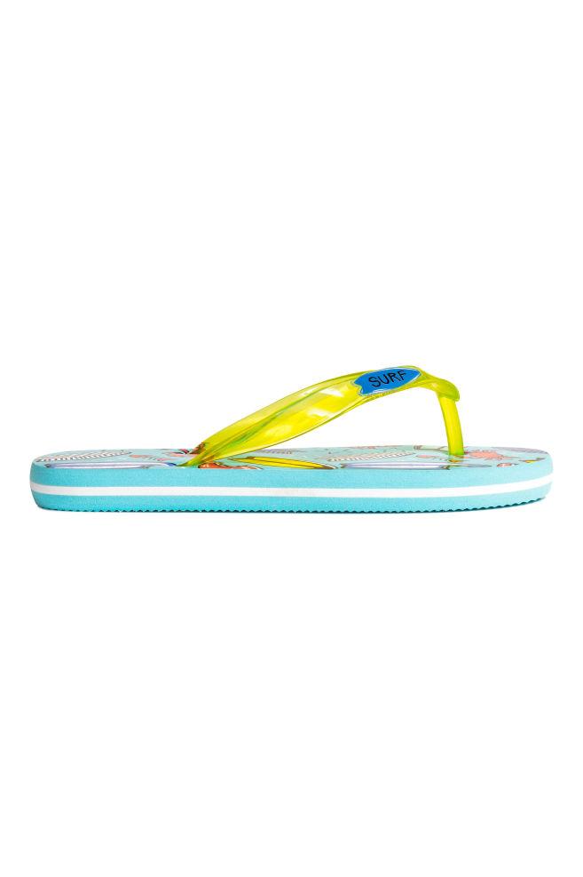 a3993ae5ad661 Flip-flops - Mint green Surfboard - Kids