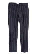 Dark blue/Pinstriped