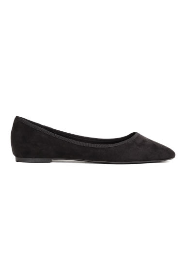 Ballet pumps - Black -  | H&M
