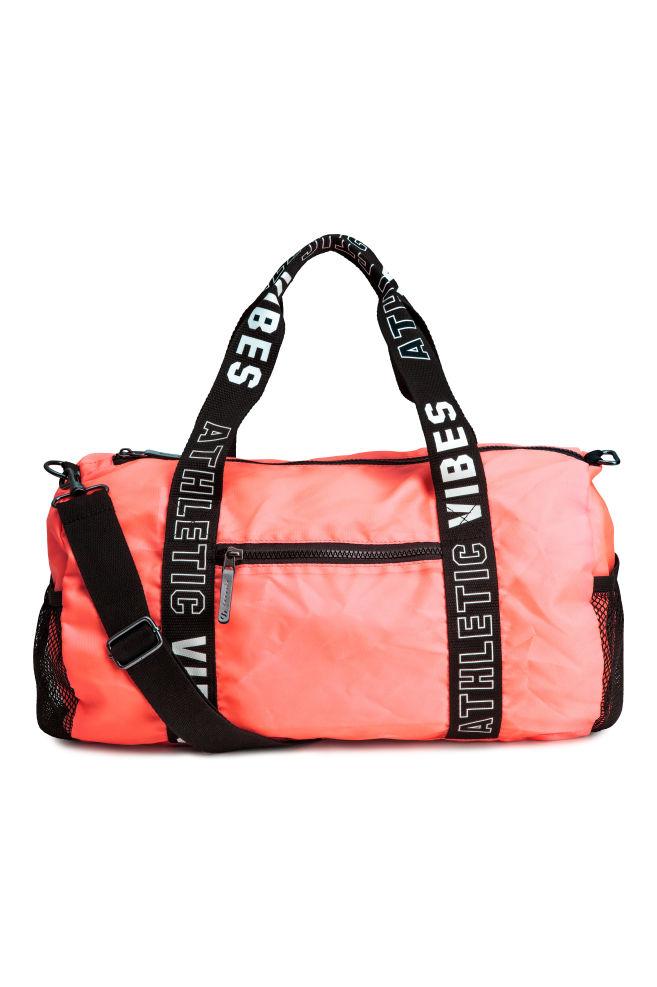 1bde1b43885c Спортивная сумка - Неоново-коралловый - Дети | H&M ...