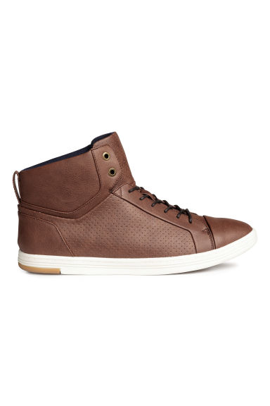 Hi-top trainers - Brown - Men | H&M CN