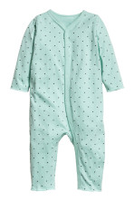 108a05883 Printed all-in-one pyjamas - Black Eyes - Kids