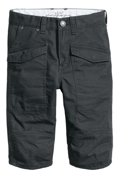 Generous fit Clamdiggers - Black - Kids | H&M CN