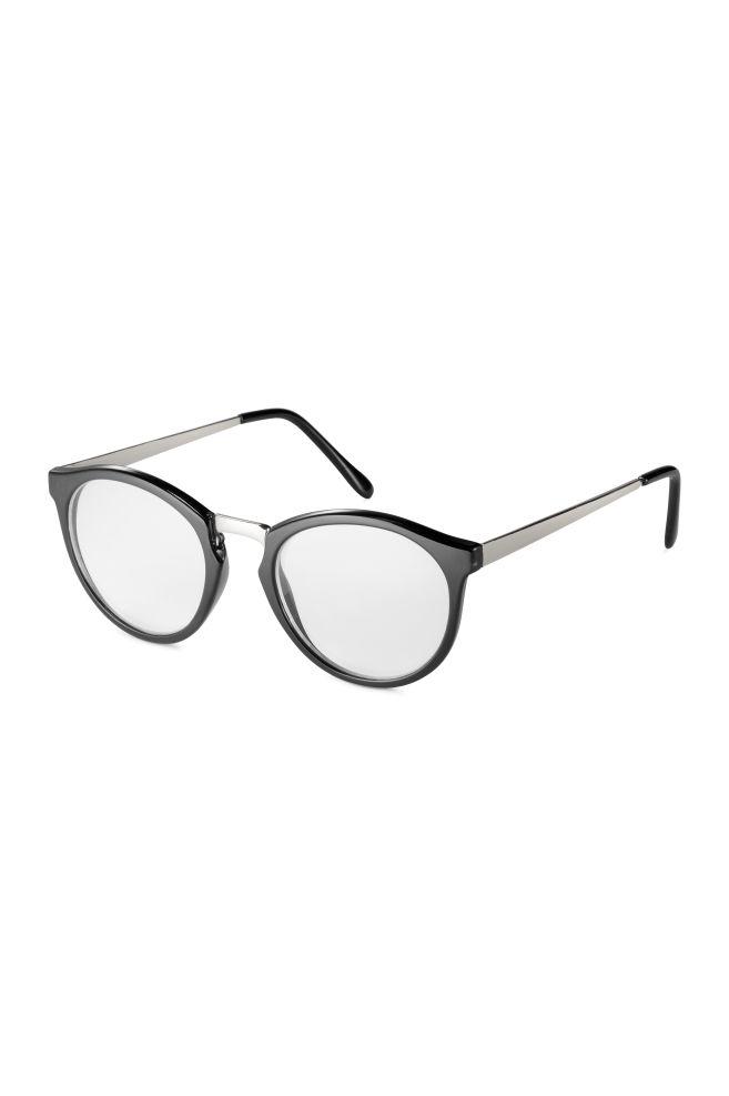 Kerek szemüveg - Fekete ezüst - NŐI  750247502c