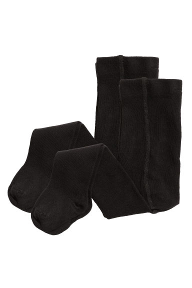 2-pack Tights - Black - Kids | H&M CA