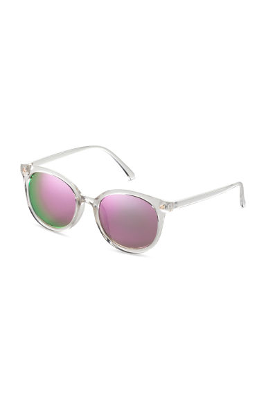 Sunglasses - Transparent/Pink - Ladies | H&M