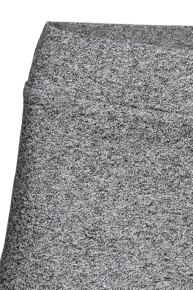 bbe9ceca5a ... Džersejová sukňa - sivá melírovaná - ŽENY
