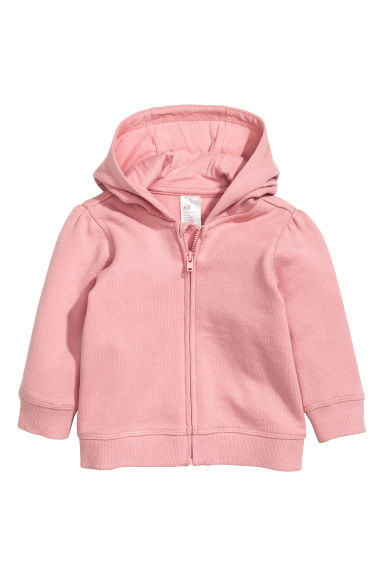 Hooded jacket - Light pink -  | H&M CN