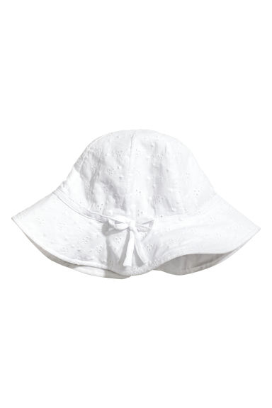 Sun hat - White - Kids | H&M CN