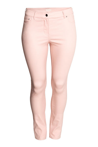 H&M+ Stretch trousers - Powder pink - Ladies | H&M