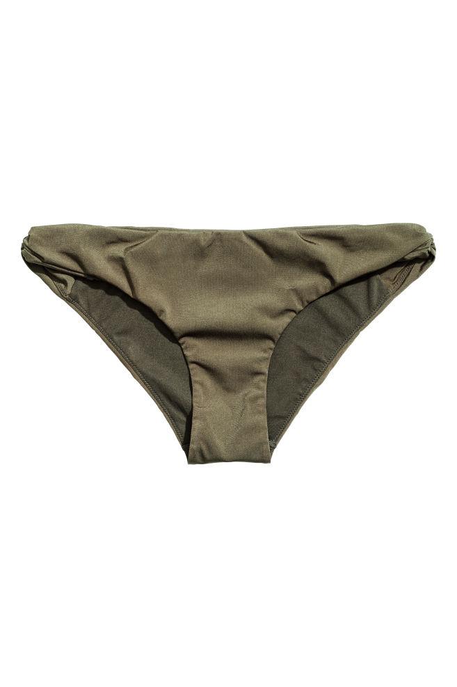 05048365f2 Bas de maillot - Vert kaki - FEMME | H&M FR 2 ...