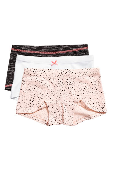 3-pack boxer briefs - Powder pink/Spotted -  | H&M CN