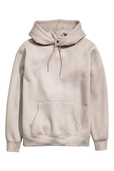 Hooded top - Beige - Men | H&M