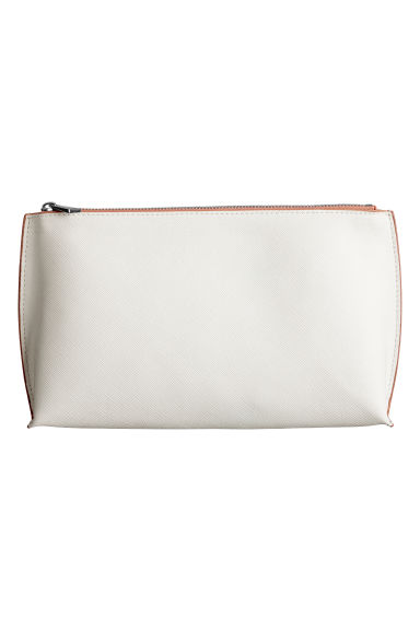 Makeup-bag - Vit/Beige - DAM | H&M FI