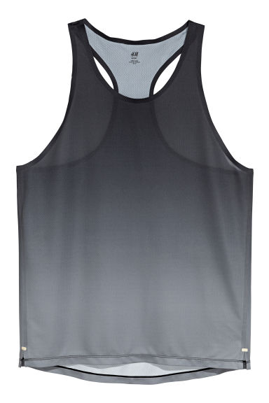 Ultra-light running vest - Black/Grey - Men | H&M