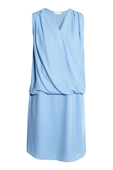 MAMA Nursing dress - Light blue - Ladies | H&M