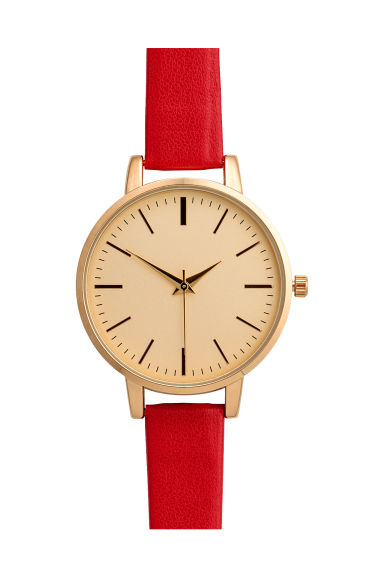 Montre - Rouge -  | H&M FR