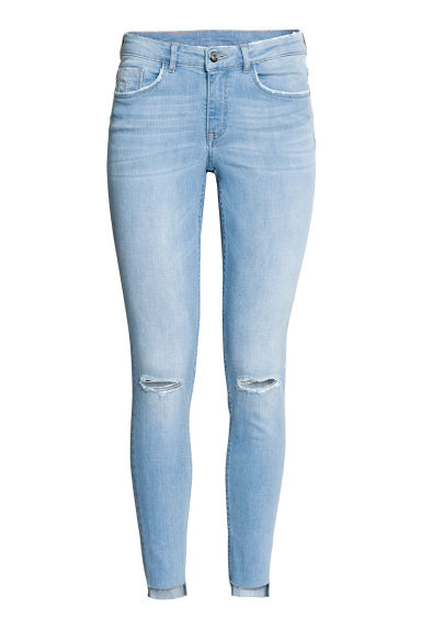 Skinny Regular Ankle Jeans - Azul denim claro -  | H&M ES