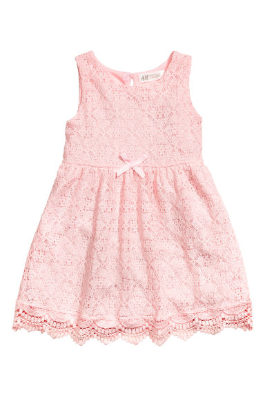 Lace dress - Light pink - Kids | H&M