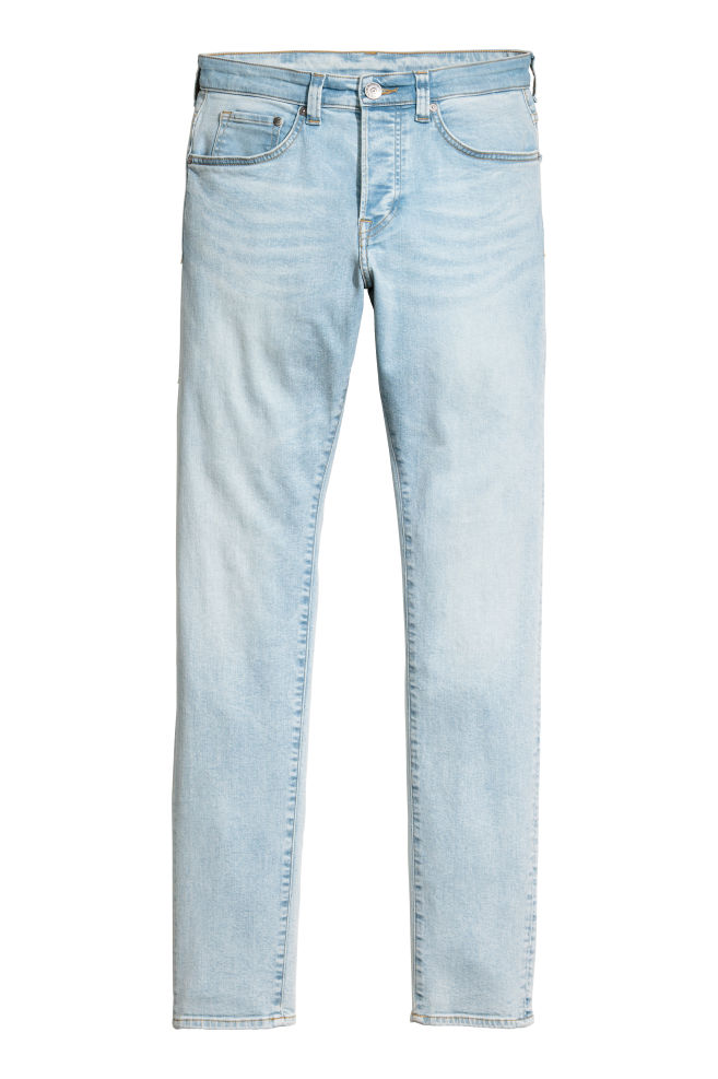 Skinny Jeans - Light denim blue - Men  97d156e97