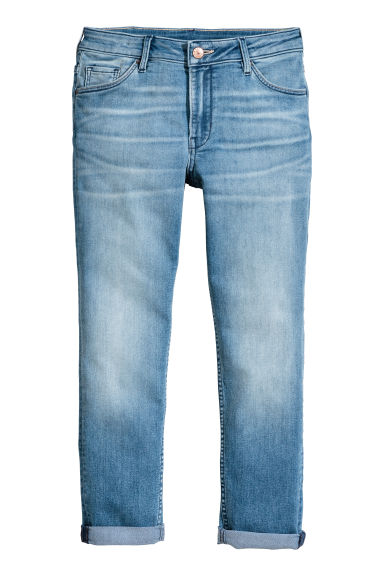 Relaxed Generous Size Jeans - Denim blue - Kids | H&M CN