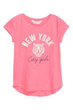 Coral pink/New York
