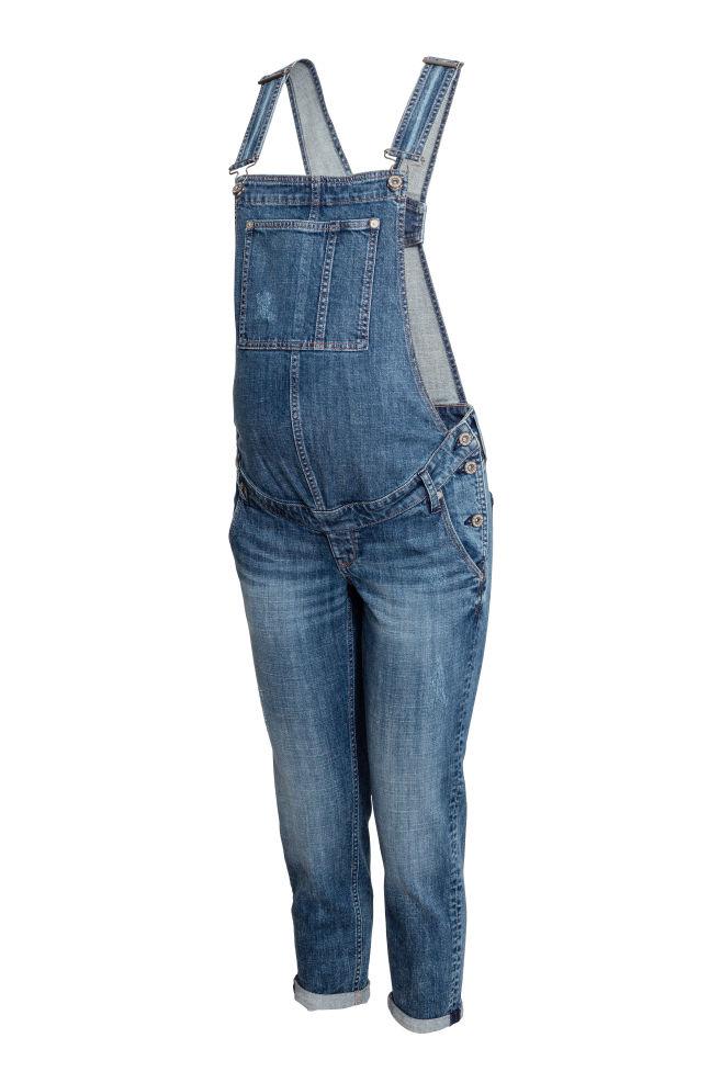 3edaa66bf8e1b MAMA Dungarees - Denim blue - Ladies   H&M ...