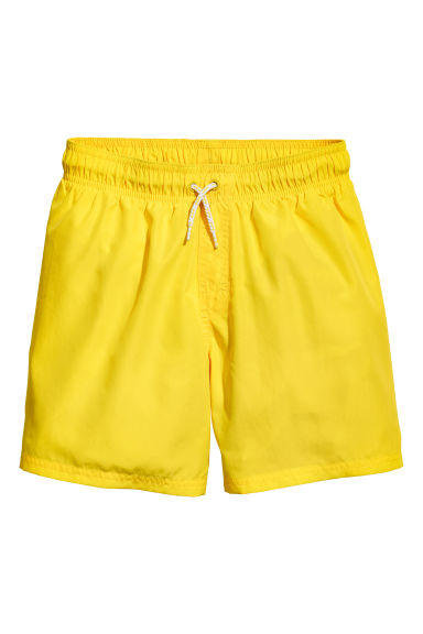 Swim shorts - Yellow - Kids | H&M CN