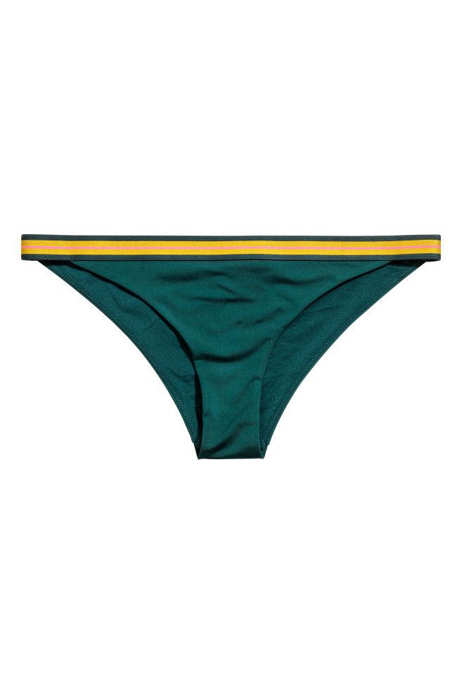 6b91fc6242 Bas de maillot - Vert émeraude - FEMME | H&M FR 2 ...