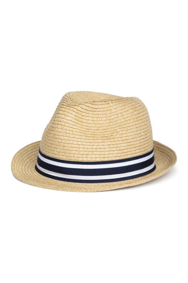 893adc3cf75c7 Chapeau de paille - Naturel - ENFANT | H&M ...