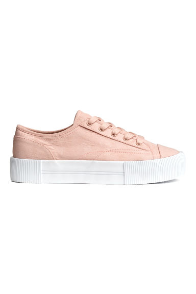 Platform trainers - Old rose - Ladies | H&M CN