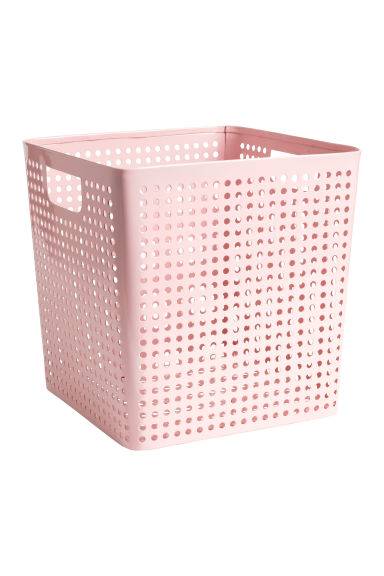 Metal storage basket - Light pink - Home All | H&M CA