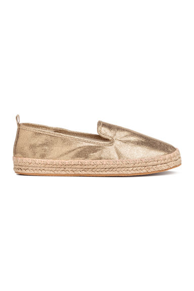 Canvas espadrilles - Gold - Kids | H&M CN
