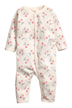 32473cd76 Printed all-in-one pyjamas - White Mummy - Kids