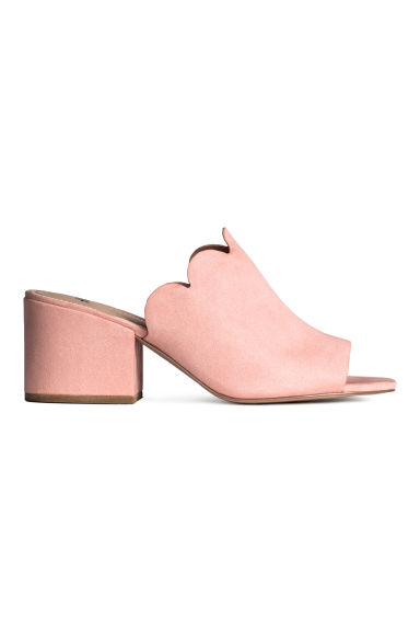 Mules - Powder pink - Ladies | H&M GB