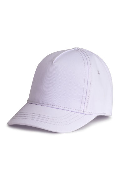 Cotton cap - Lilac -  | H&M CN