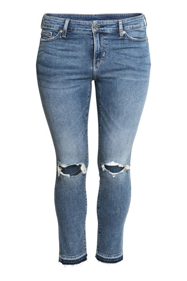H&M+ Slim Regular Ankle Jeans - Denimblauw -  | H&M BE