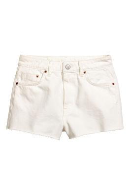 Korte Broek Dames Jeans.Shorts H M Nl